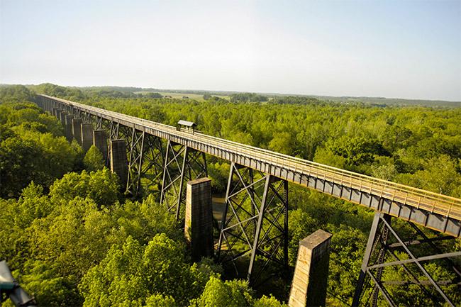 voyage insolite high bridge trail