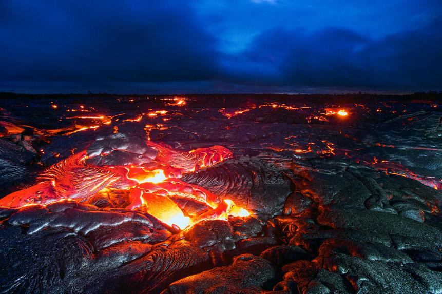Kilauea de nuit